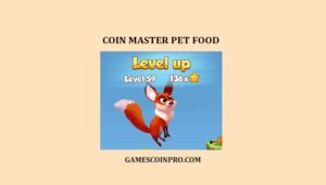 Free Coin Master Pet Food