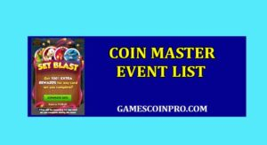 Coin master Events List