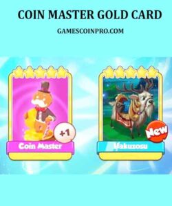 gold cards in coin master