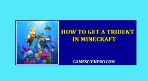 how to get a trident in minecraft