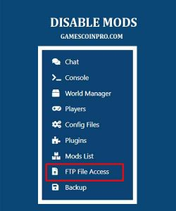 how to disable a mod in a modpack