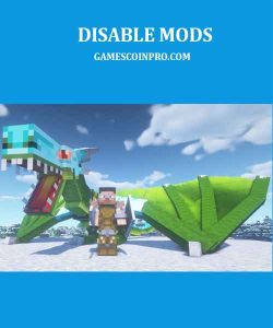 how to disable mods in minecraft